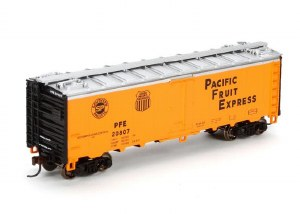 PFE 40' STEEL REEFER #20807