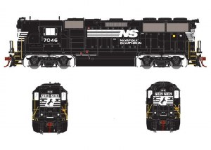 NS GP50 PH I #7046-DCC & SOUND