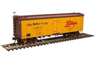 LIBBY'S 36' WOOD REEFER #1717