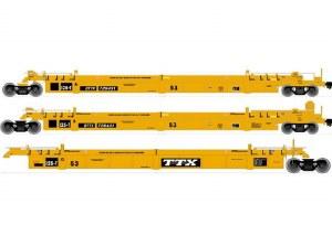 TTX 53' WELL CAR #728621-3 PK
