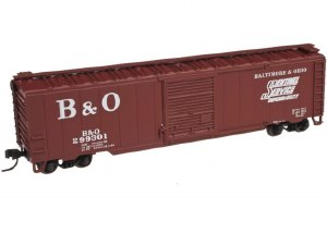 B&O 50' SINGLE DR BOX #299319