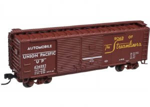 UP 40' DD BOXCAR #474000