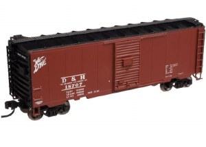 D&H 40' PS-1 BOXCAR #18494