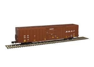 BNSF BX-177 60' BOX CAR 781226