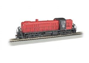 NH RS-3 #543 W/E-Z APP TRAIN