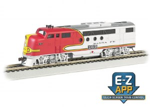 AT&SF FT #163 W/E-Z APP TRAIN