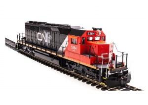 CN SD40-2 #5384 W/PARAGON2