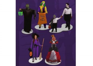 TRICK OR TREATERS FIGURES