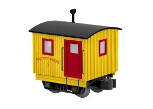 SAFETY FIRST LOGGING CABOOSE