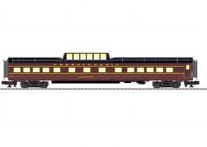 PRR VISTAVISION DOME CAR