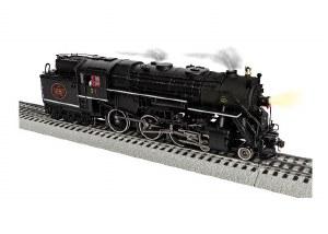 CN 4-6-6T #51 STEAM ENGINE