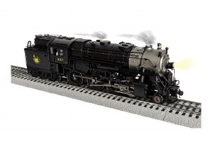 CNJ 4-6-6T #231 STEAM ENGINE