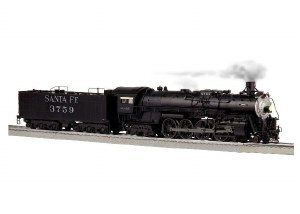 SF #3759 4-8-4 STEAM ENGINE