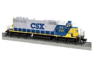 CSX SD38 #2461
