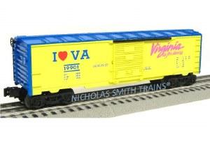 I LOVE VIRGINIA BOXCAR