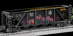 B&O QUAD HOPPER W/GRAFITI