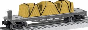 U.S. NAVY FLATCAR