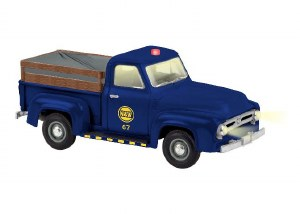 N&W OLD STYLE INSPECTION TRUCK