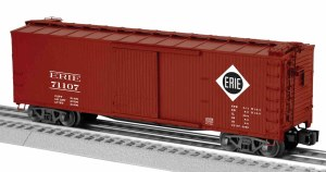 ERIE DOUBLE SHEATHED BOXCAR
