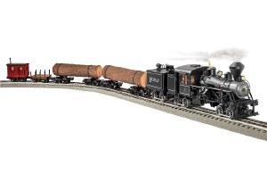 HEISLER LOG TRAIN SET