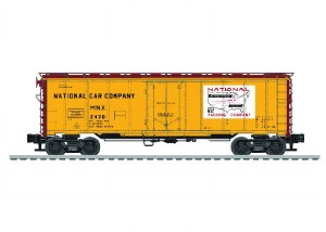 NATIONAL 40' STEEL REEFER