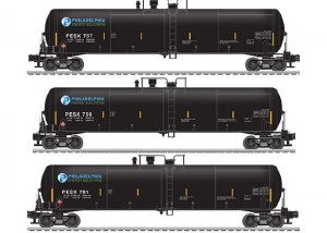 PESX 30K GALLON TANK CAR-3 PAC