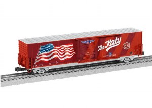 UP LED FLAG BOXCAR #1988