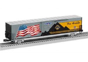UP LED FLAG BOXCAR #1989