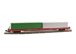 CP 89' FLAT CAR W/CONTAINERS