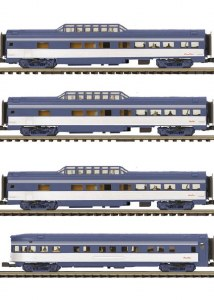 EMD 4 CAR 70' STREAMLINED SET