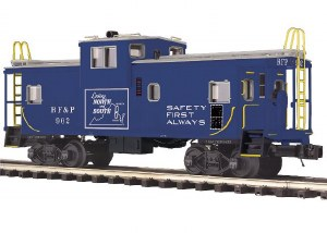 RF&P EXTENDED VISION CABOOSE