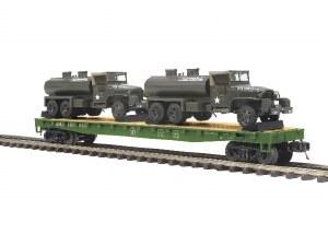 U.S. ARMY FLAT W/GMC 353 TRUCK