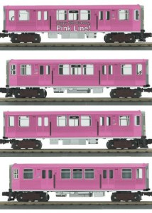 CTA 4 CAR SUB (THE PINK LINE)