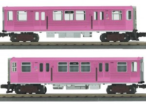 CTA 2 CAR N/P (THE PINK LINE)