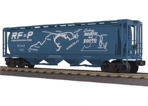 RF&P 4 BAY CYL HOPPER (MAP CAR