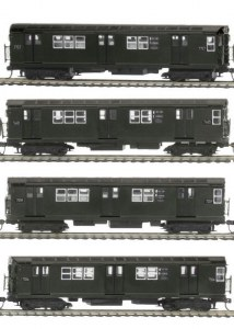 MTA R-22 4 CAR SUBWAY SET