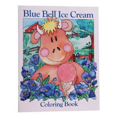 Blue Bell Coloring Book