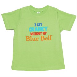 Toddler Cranky Blue Tee 2T