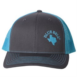 Blue Mesh Texas Cap