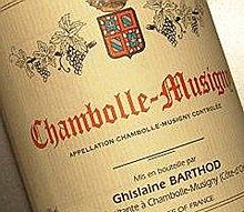 Barthod Chambolle Mus 1er 2008
