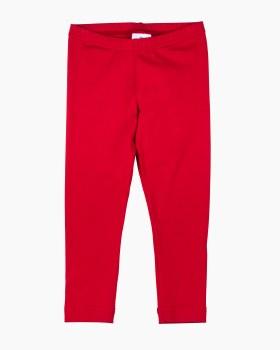 Red Knit. 97% Cotton 3% Spandex. Leggings