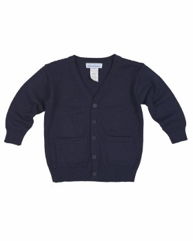 Navy Sweater Knit. 100% Cotton
