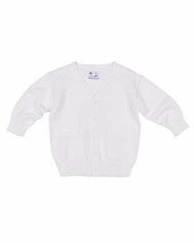 Light Blue & White Check Finewale Pique. 65% Poly 35% Cotton. Giraffe