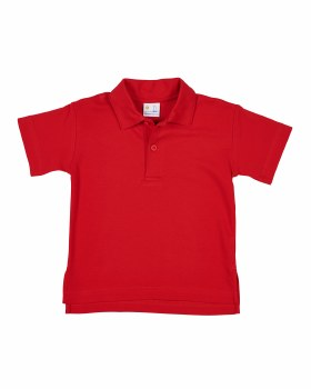 Red Interlock, 100% Cotton