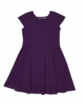 Purple Crepe Techno Knit. 95% Polyester 5% Spandex