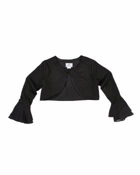 Black Techno Crepe. Black Chiffon. 96% Polyester 4% Spandex