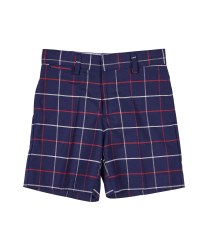 Navy & Red & White Plaid & 100% Cotton