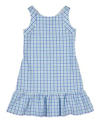Blue & Green Plaid 100% Cotton. Lined