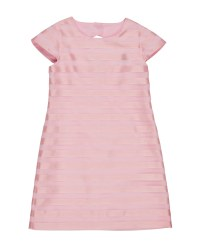 Pink Shadow Stripe & 100% Polyester. Lined