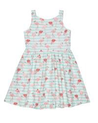 Flamingo Print & 100% Cotton. Lined